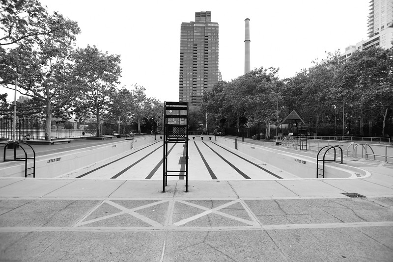 Empty Pool on the Upper East Side