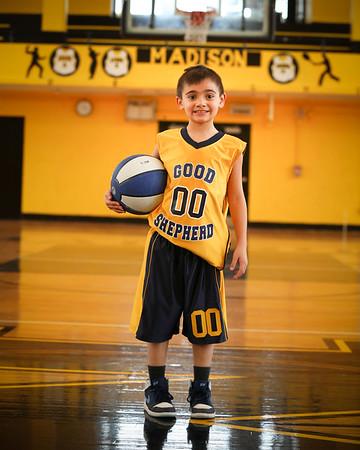 Good Shepherd Basketball Team/Ind Photos