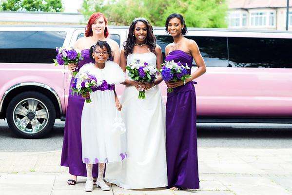 Jessica and Llewellyn's wedding