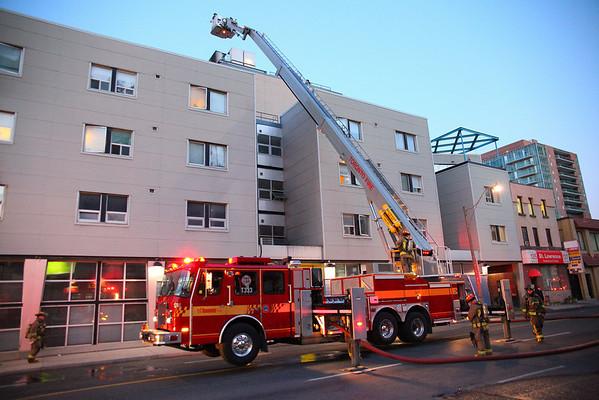 October 18, 2009 - 3rd Alarm - 147 Queen St. East