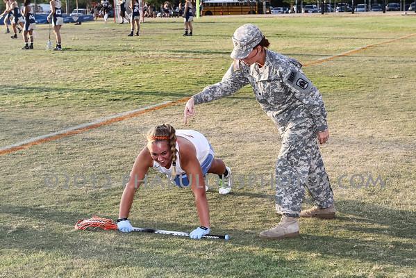 University @ Boone Girls Varsity Lacrosse Senior Night - 2012