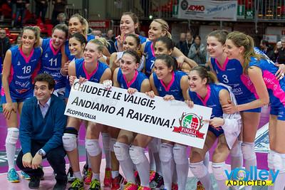 4i Coppa Italia: Nordmeccanica Piacenza - Liu Jo Modena