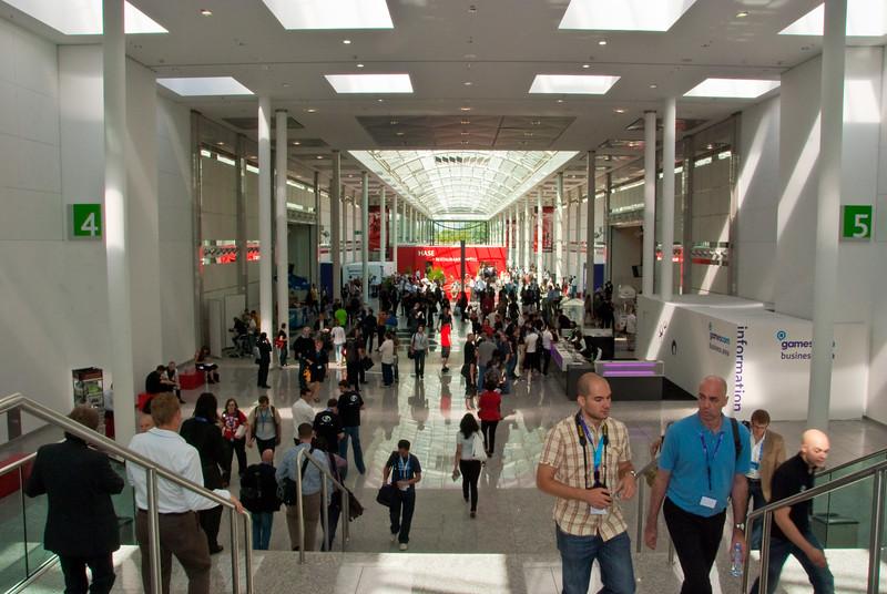 Business area at GamesCom