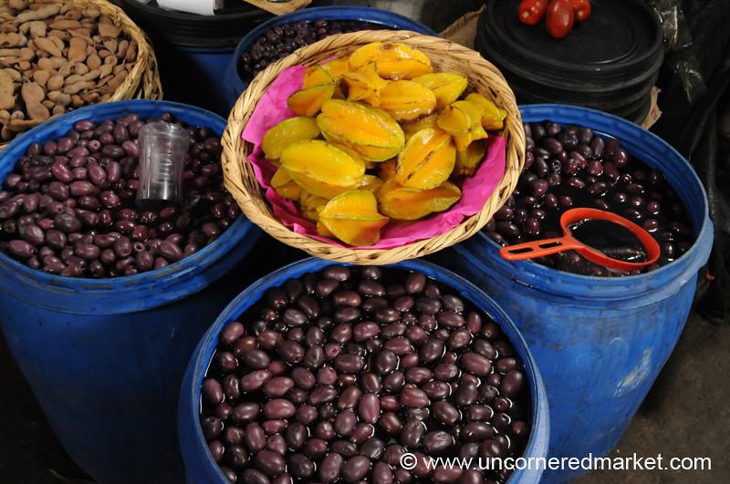 Peruvian Olives and Starfruit - Cajamarca, Peru