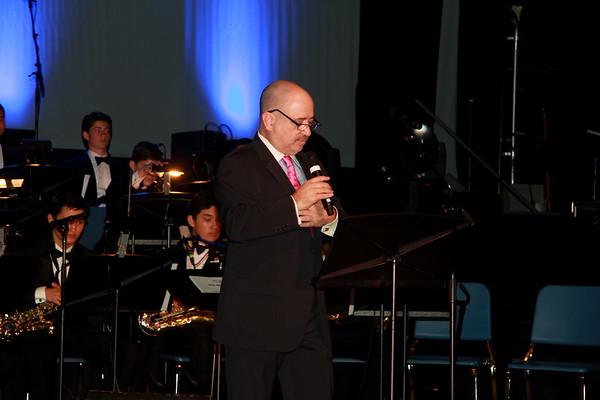 Lucrecia Concert with Belen Jazz Band