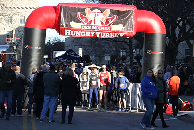 Des Moines Hungry Turkey Half Marathon & 5K - 2017