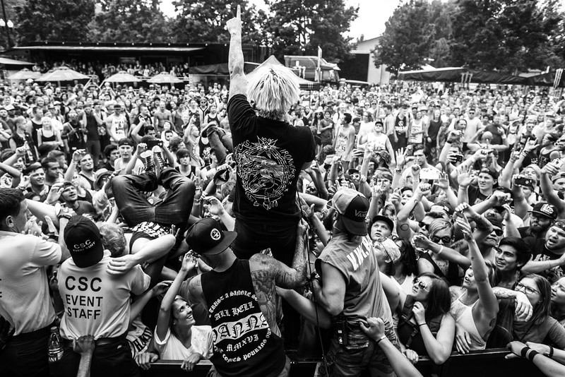 Telle Smith in Salt Lake City, UT on Vans Warped Tour 2016