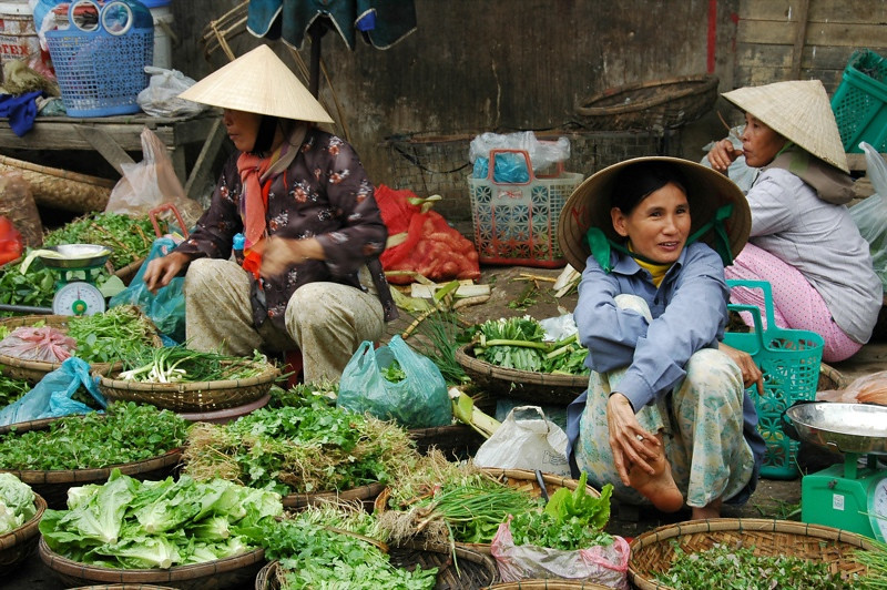 Fresh Herbs and Vegetables - Hoi An, Vietnam