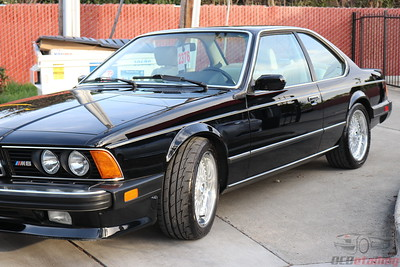 1987 BMW M6 - Black