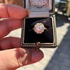 1.97ctw Antique Cluster Ring, GIA G SI2 7