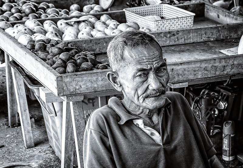 Borneo Market Vendor