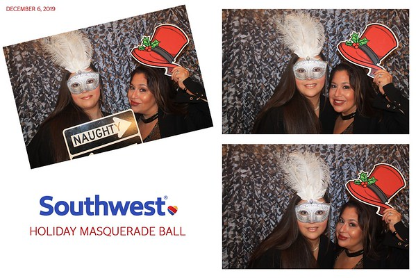 "Southwest "" Holiday Masquerade Ball 2019"""