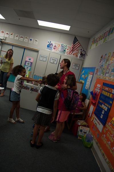 Miss Burdine's class last day of school 2013