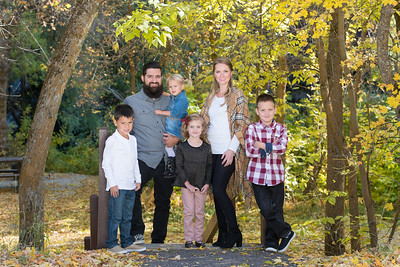 Gonzales family  2017 Logan Canyon