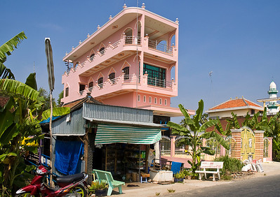 Chau Doc on the Mekong