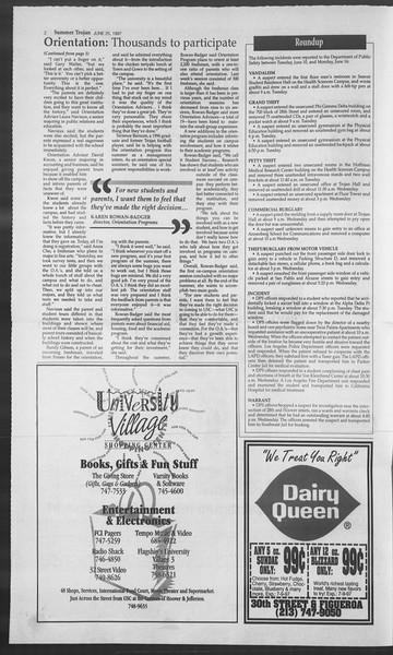 Summer Trojan, Vol. 131, No. 7, June 25, 1997