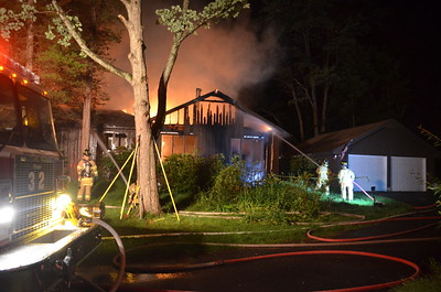 Structure Fire - Glastonbury, CT -- 7/2/14