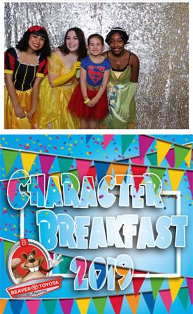 2019 Character Breakfast (Silver)