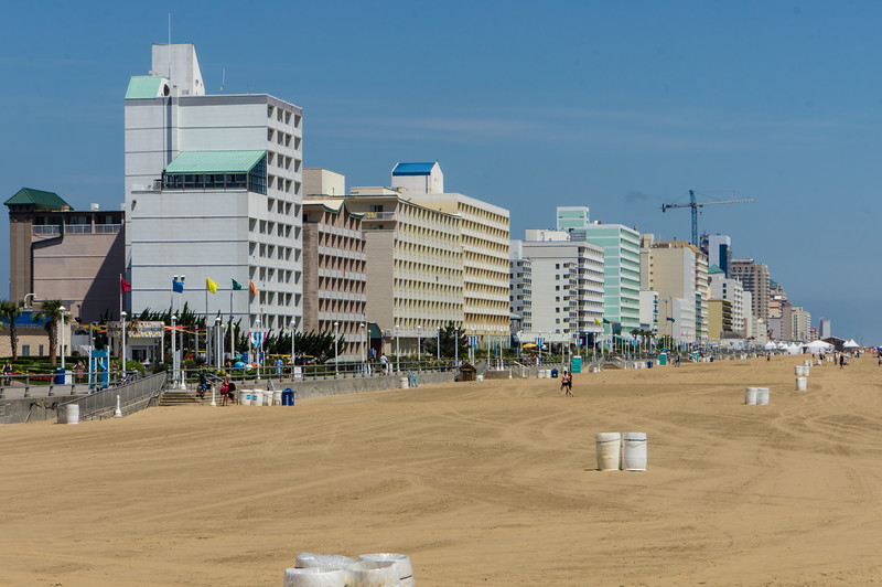 Hotels along Virginia Beach