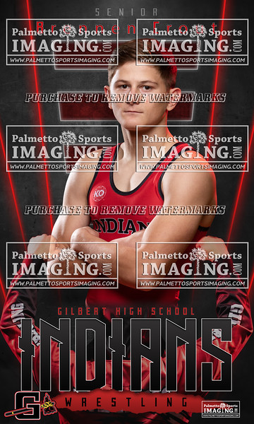 Gilbert 2019-2020 Wrestling Banner Designs