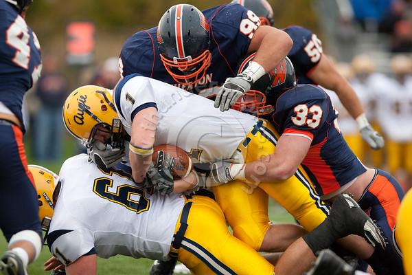 Wheaton College Football vs Augustana (Homecoming 2009) (24-17), October 10, 2009