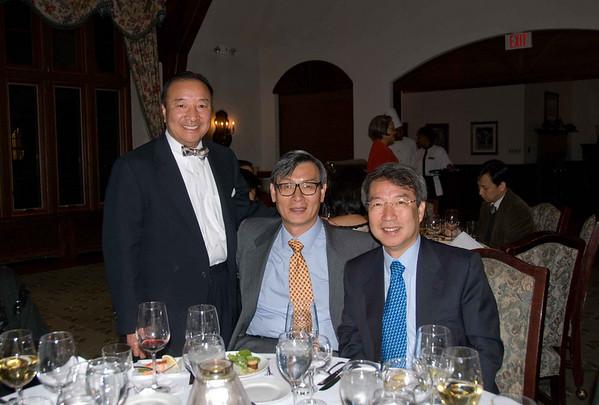 Reception for professor Chung