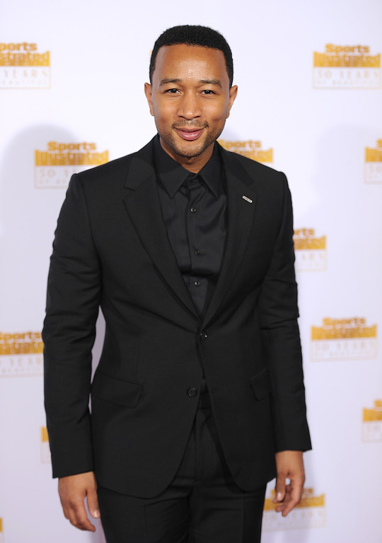 . Musician John Legend attends NBC and Time Inc. celebrate the 50th anniversary of the Sports Illustrated Swimsuit Issue at Dolby Theatre on January 14, 2014 in Hollywood, California.  (Photo by Dimitrios Kambouris/Getty Images)