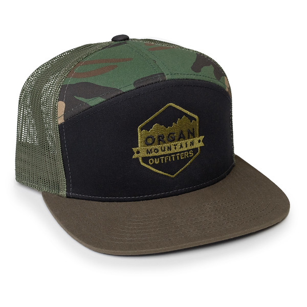 Organ Mountain Outfitters - Outdoor Apparel - Hat - 7 Panel Trucker Cap - Black Olive Camo.jpg