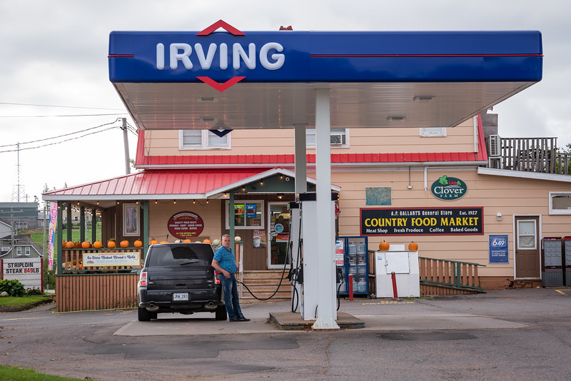 Irving, one of the richest, if not the richest, families in Canada...
