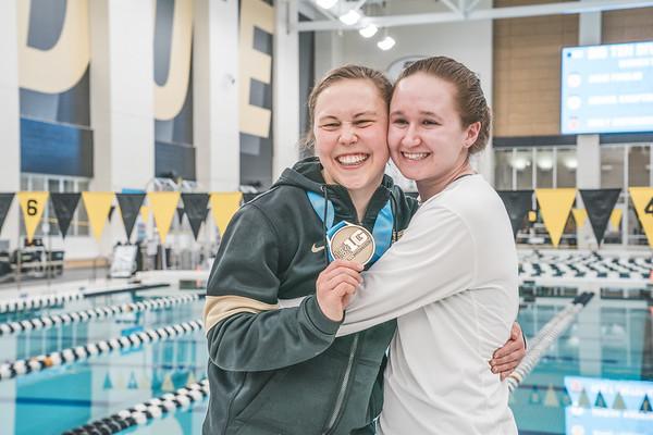 02-25-21 Big Ten Diving Women's 3 Meter
