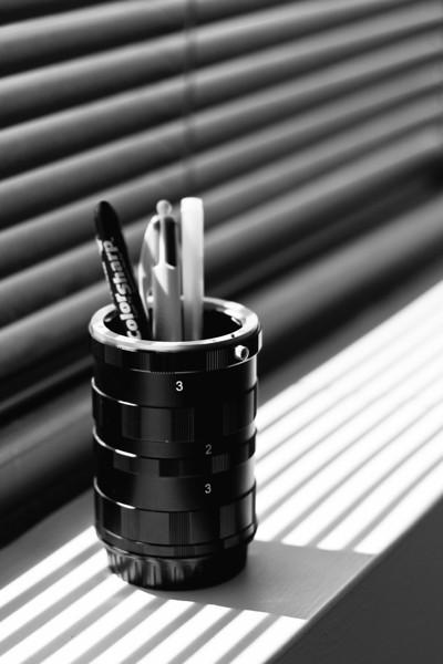 05/09 - Macro pen cup