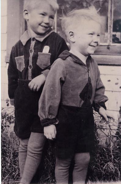 Bev & Milne in corduroy suits.jpg