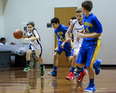 Dec 3 - BBall - Boys 7th Gr Gold vs SEAS Blue