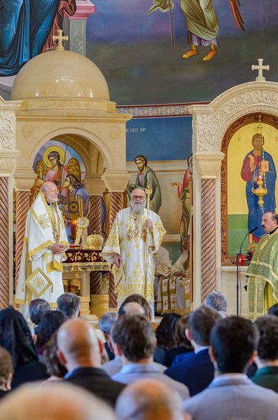 Liturgy with Patriarch John X 2017