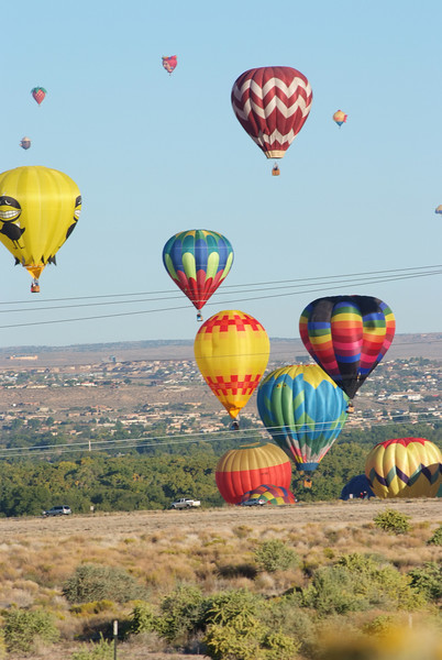 Alburquerque Balloon Festival