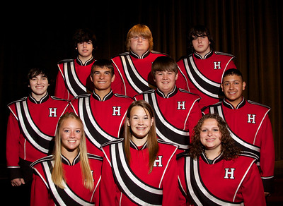 2012 Band Portraits