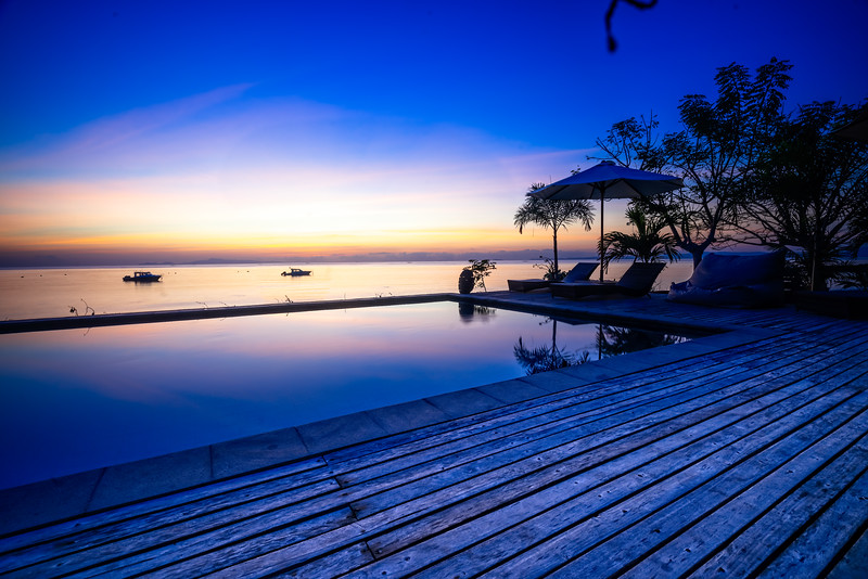 Kalimaya Pool Sunrise