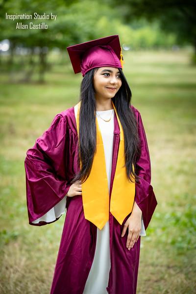 Mariyama Chowdhury's graduation Photos