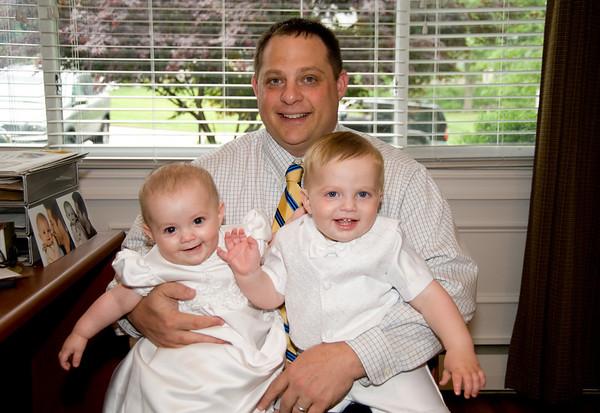 Alexa and Gus Christening May 23rd 2010