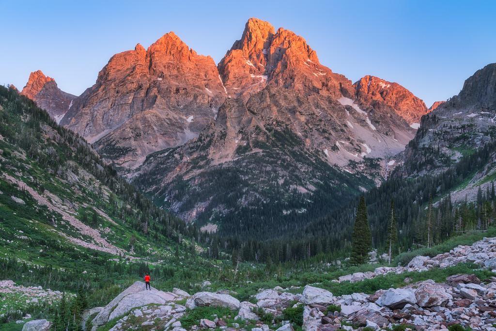 North Fork Cascade Canyon Grand Teton National Park Wyoming