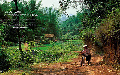 VOYAGE (Italy): North Vietnam: Adventure near the Chinese Border (traditional peoples feature)