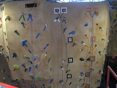 Rockclimbing at Stelley's School