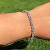 9.50ctw Round Brilliant Diamond Tennis Bracelet 14