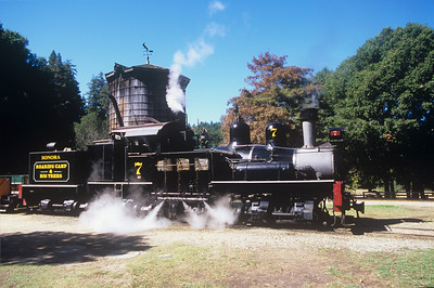 Misc steam trains in the USA