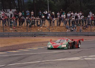1991 Le Mans  Mazda rotary win