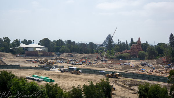 Disneyland Resort, Disneyland, Frontierland, Critter Country, Star Wars Land, Star, Wars, Land, Construction, Rivers, River, America