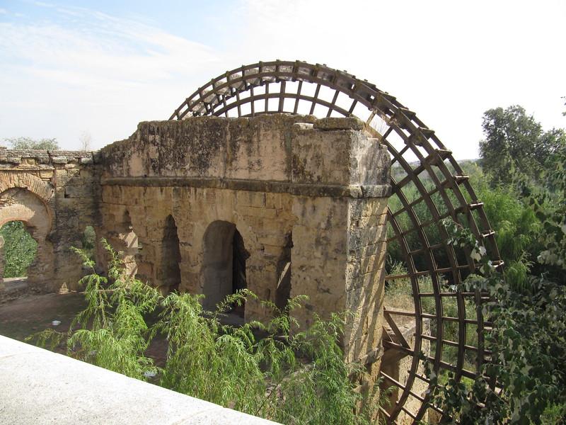 Water wheel on the Rio Guadalquivir