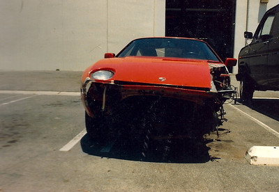 Porsche 928 Project in late 80's