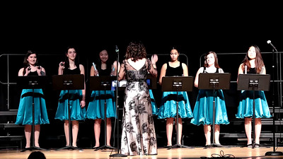 PVHS Choir Sponsors Inter-District Choral Festival including, Holdrum Middle School of River Vale and George White Middle School of Hillsdale,   February 19th, 2015