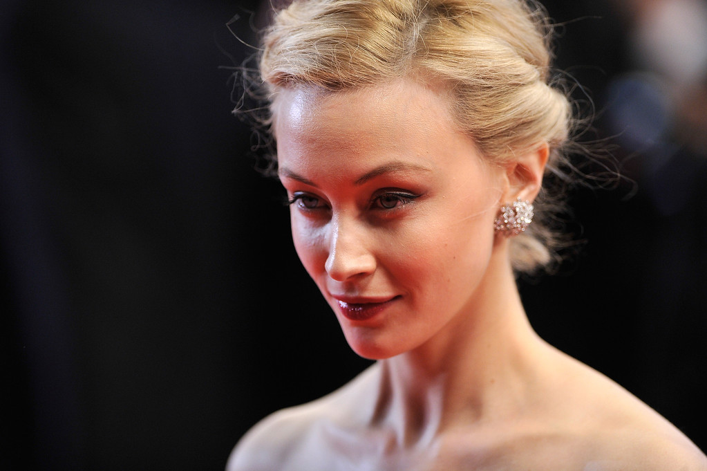 """. Sarah Gadon  attends the \""""Maps To The Stars\"""" premiere during the 67th Annual Cannes Film Festival on May 19, 2014 in Cannes, France.  (Photo by Gareth Cattermole/Getty Images)"""
